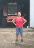 Tina Parson at Laurel Farm 2012