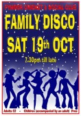 Pymoor Cricket & Social Club are holding a Family Disco on Sat 19th Oct 2013