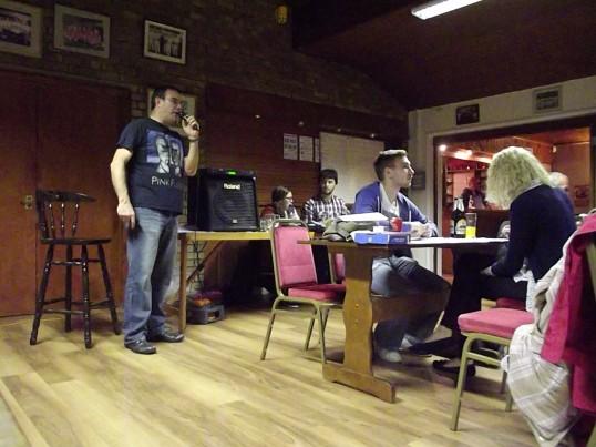 Quiz Night at the Pymoor Cricket & Social Club 2013
