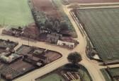 Aerial photograph of Pymoor Crossroads. (circa 1965)