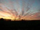 Sunset in Pymoor 2014