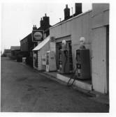 Barker's Gararage, Main Street, Pymoor. 1962