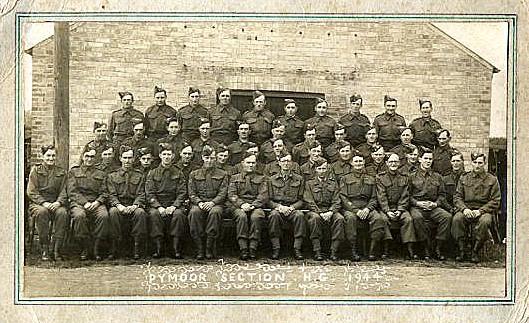 Home Guard in Pymoor, 1944.
