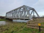The Iron Rail Bridge at Pymoor Sidings 2009