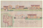 Plans for the New methodist Chapel in Pymoor 1951