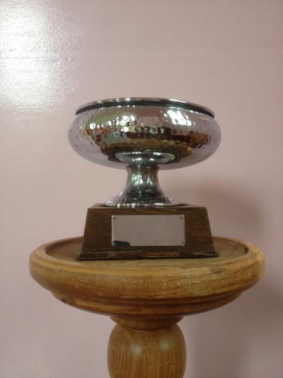 Memorial  Bowl in the Methodist Chapel in Pymoor.