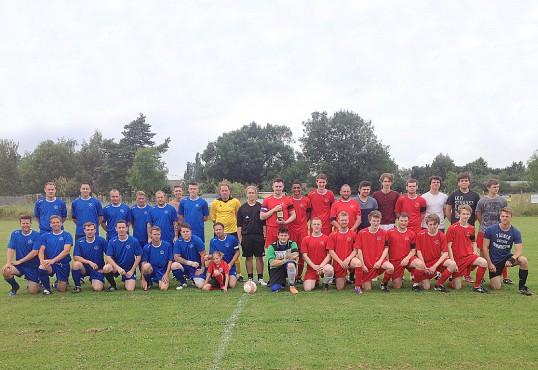 Jack Ure's Memorial Football Match 2014