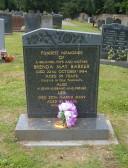 Grave of Brenda & Les Barker of Pymoor, 2009
