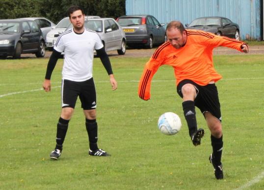 Pymoor FC pre-season friendly v Ely 2014