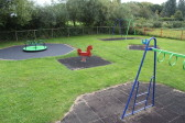 Childrens Play Area at the Pymoor Cricket Club, Pymoor Lane, Pymoor, 2014.