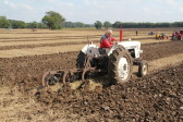 Richard Golding of Pymoor, taking part in a Ploughing Match, 2014