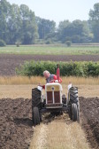 Richard Golding of Pymoor taking part in a Ploughing Match, 2014