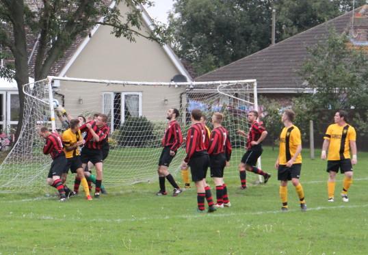 Little Downham Swifts FC v Cottenham FC, 2014.