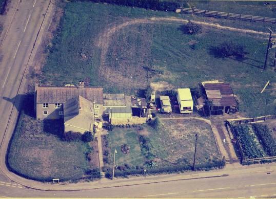 Corner of Main Street and Pymoor Lane, Pymoor, circa 1986