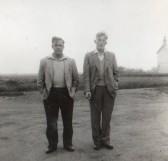Don Dewsbury and Stan Butcher, circa 1950