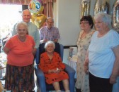 Ida Godbold's 100th Birthday, 2014