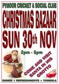 Pymoor Cricket and Social Club Christmas Bazaar, 2014