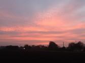 Sunrise in Pymoor, Oct 2014