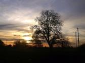 Sunrise over Pymoor, Nov 2014