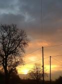 Sunrise in Pymoor, Nov 2014