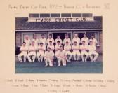 Frank Darby Cup Final 1992 - Pymoor CC v Presidents XI