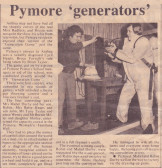 Article in the Ely Standard about a Social Event held in the W.I. Hall in Main Street Pymoor, 1978