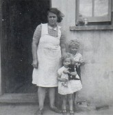 Ida Godbold with Alan and Jill Godbold, circa 1950