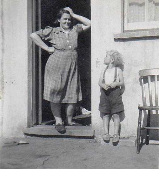 Ida and Alan Godbold, circa 1950