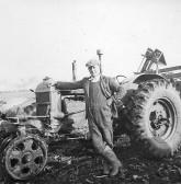Algie Rogers, Beet Harvesting, circa 1950