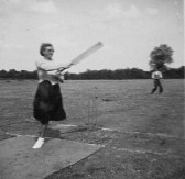 Pymoor Cricket Club's Concrete Wicket, circa 1950