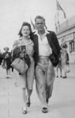 Muriel (Midge) Dewsbury and Don Dewsbury, circa 1950