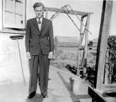 Derrick Godbold of Pymoor, circa 1950
