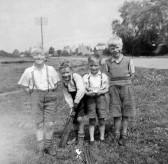 Alan Butcher, Alan Godbold, Tony Martin and Malcolm Winters, circa 1950