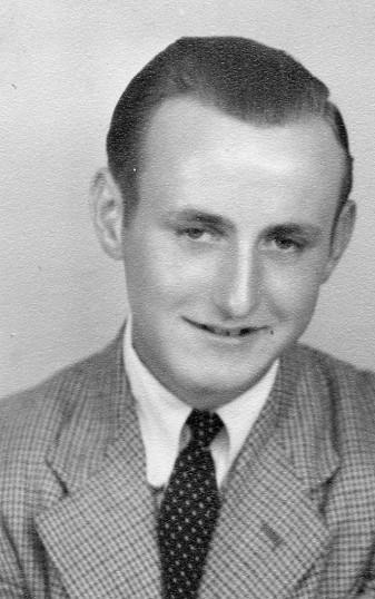 Ron Pearson of Oxlode, circa 1950