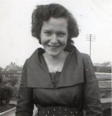 Hazel Godbold of Pymoor, circa 1950