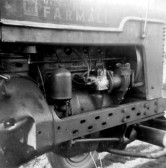Farmall Tractor Engine, circa 1950