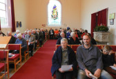 Congregation at the Pymoor and Coveney Methodist Chapels' Carol Service 2014.