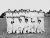 Pymoor Cricket Team, circa 1980