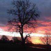 Sunrise in Pymoor, Dec 2014