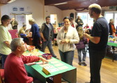 Pymoor Cricket and Social Club's Christmas Bazaar, 2014