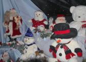 Santa's Grotto at the Pymoor Cricket and Social Club's Christmas Bazaar, 2014