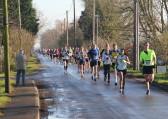 Ely New Year's Eve 10k Run in Pymoor, 2014.