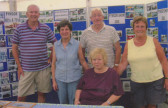 Pymoor Community Archive Group Members at the Pymoor Show 2010