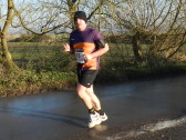 Ely New Year's Eve 10k Run in Pymoor, 2014.