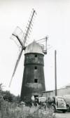 Pymoor Mill in Pymoor Lane, Pymoor, circa 1955