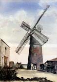 The Old Mill in Pymoor Lane, Pymoor, circa 1945