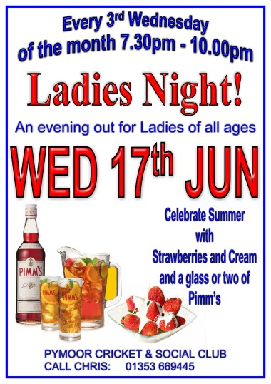 The Ladies of Pymoor and their friends celebrated summer with Strawberries and Cream and a glass or two of Pimm's. June 2015