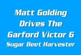 Matthew Golding Harvesting Sugar Beet, 2015 (Video)