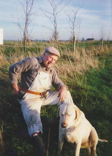 Les Barker at Oxlode Fishing Lakes, Oxlode, 1994