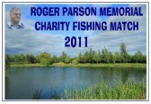 Roger Parson Memorial Charity Fishing Match 2011